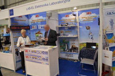 Company stand LAB-EL Elektronika Laboratoryjna on trade show EUROLAB & CRIMELAB 2015