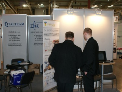 Company stand CNC SOFTWARE.PL on trade show DREMA 2011