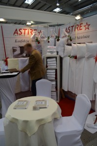 Company stand ASTRE TEXTILE on trade show EUROGASTRO 2015