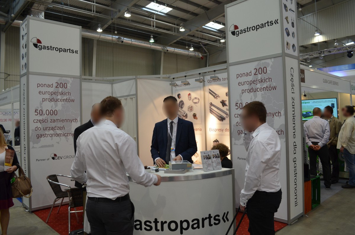 Company stand Gastroparts on trade show EUROGASTRO 2015