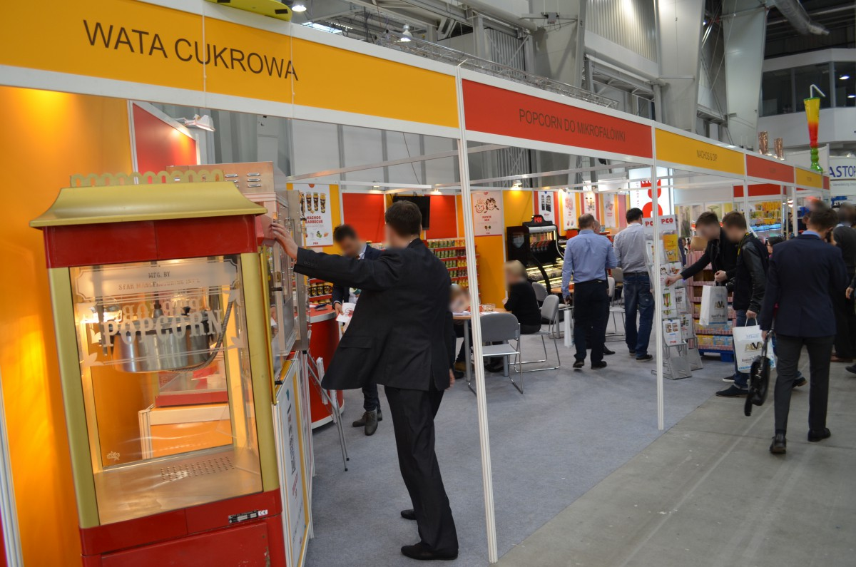 Company stand PCO Group Sp. z o.o. on trade show EUROGASTRO 2015