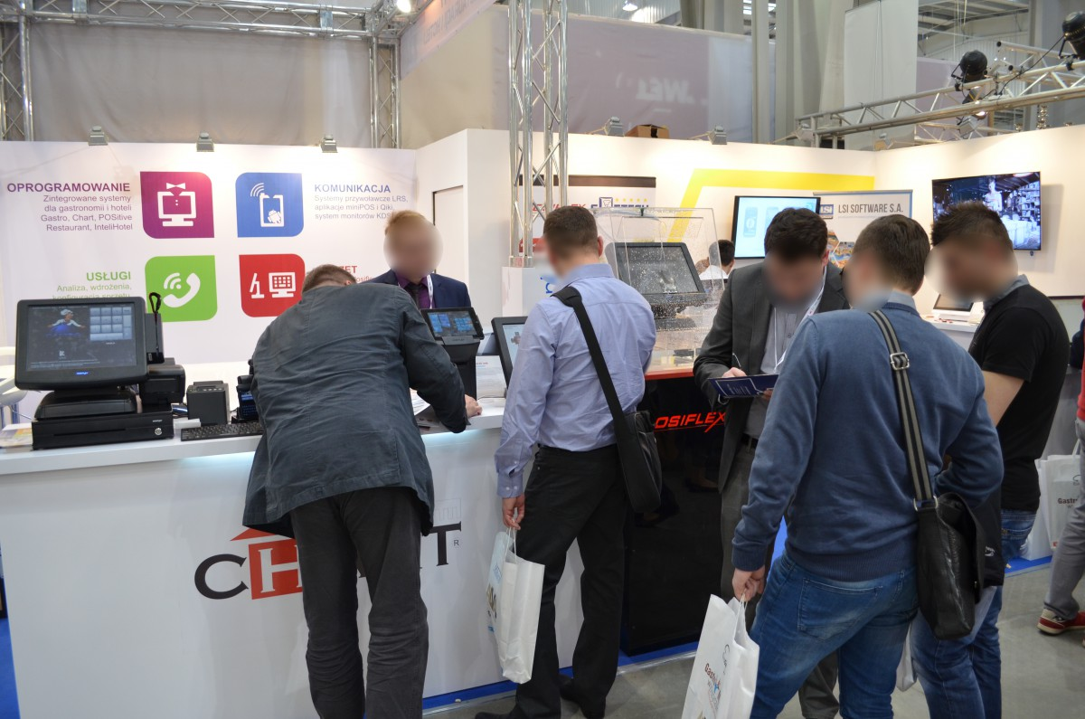 Company stand LSI SOFTWARE SA on trade show EUROGASTRO 2015