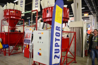 Company stand ZUPTOR Sp. z o.o. on trade show LAS-EXPO & AGROTECH 2015