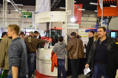 Company stand SCHARMÜLLER GESELLSCHAFT mbH & Co. KG on trade show LAS-EXPO & AGROTECH 2015