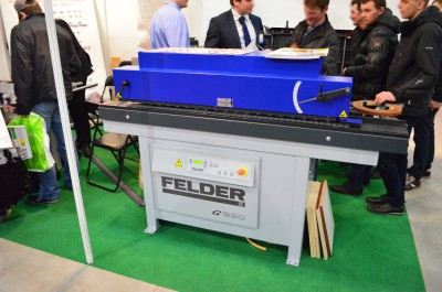 Company stand FELDER Group Polska Sp. z o.o. on trade show LAS-EXPO & AGROTECH 2015