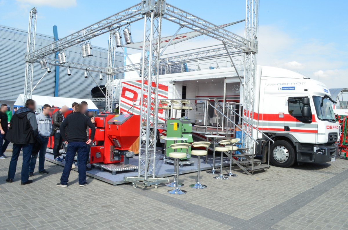 Company stand DEFRO Sp. z o.o. on trade show LAS-EXPO & AGROTECH 2015