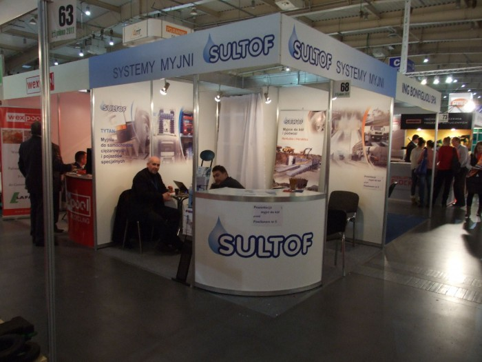 Company stand SULTOF Sp. z o.o. on trade show POLEKO 2011