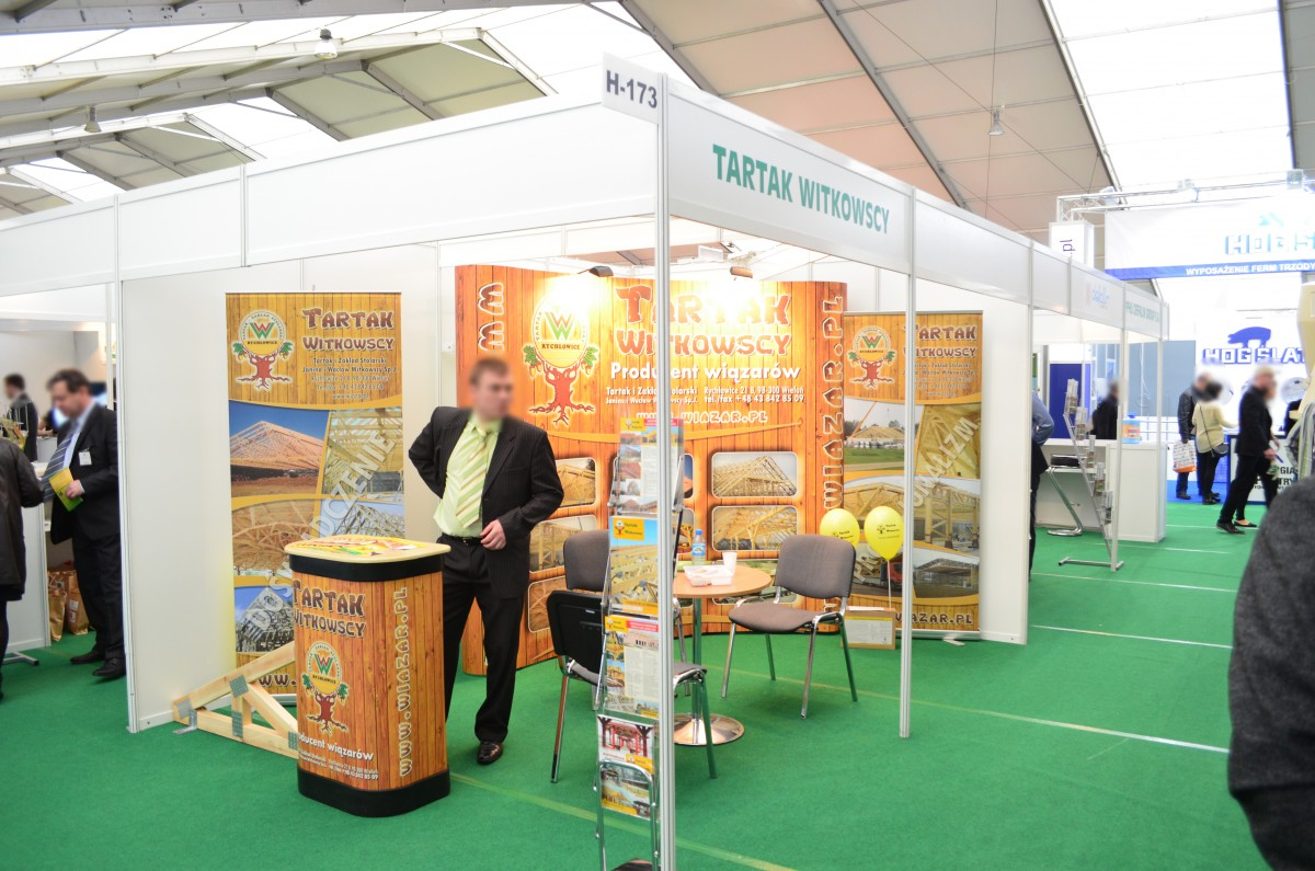 Company stand Tartak Witkowscy Sp.J. on trade show LAS-EXPO & AGROTECH 2015