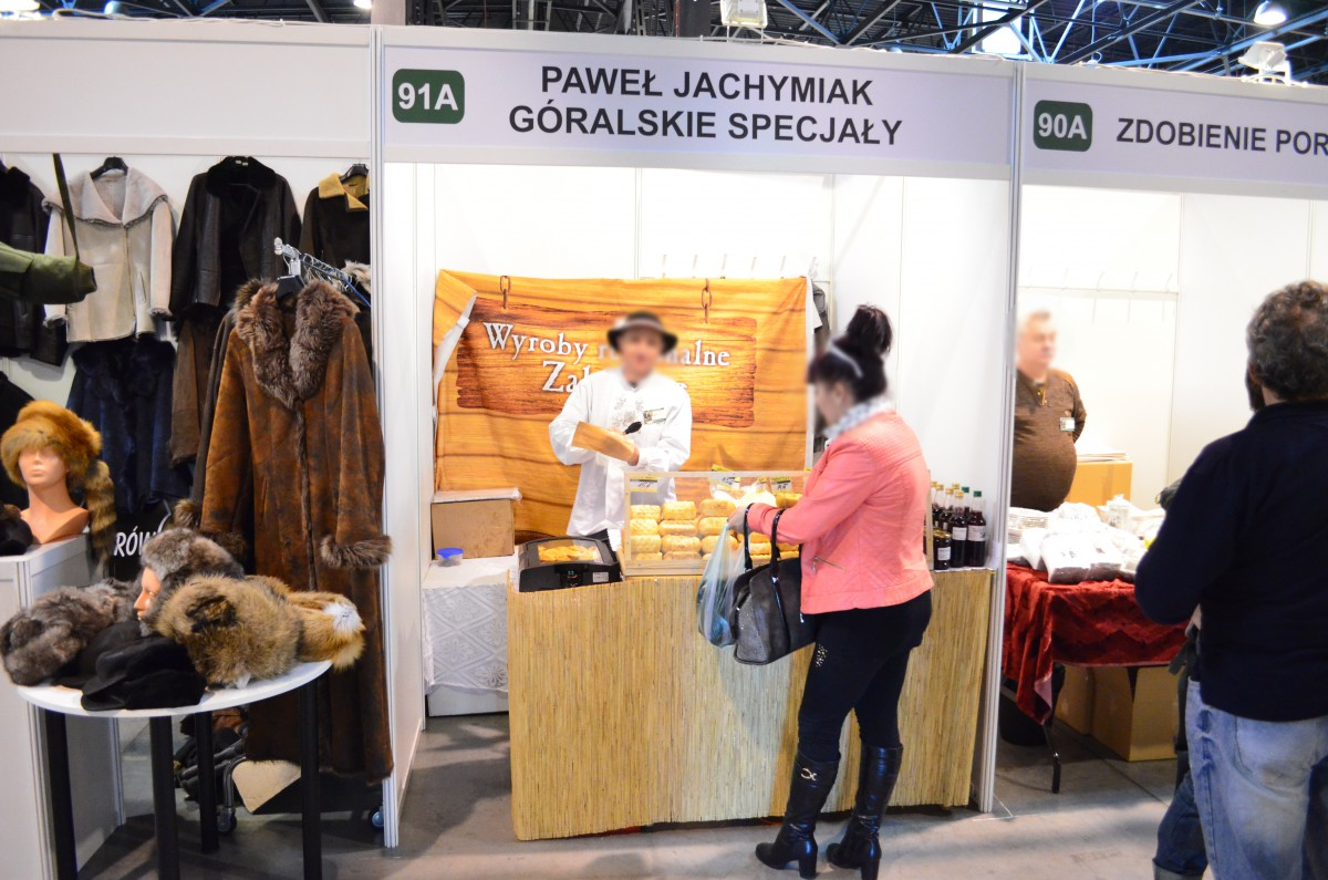 Company stand Firma Handlowa Paweł Jachymiak on trade show EXPOHunting 2015