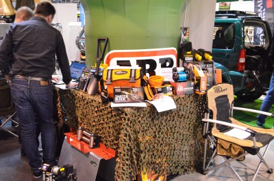 Company stand Steeler Marcin Piasecki on trade show EXPOHunting 2015