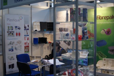 Stoisko firmy Plastique Sp. z o.o. na targach PACKAGING INNOVATIONS WARSZAWA 2015