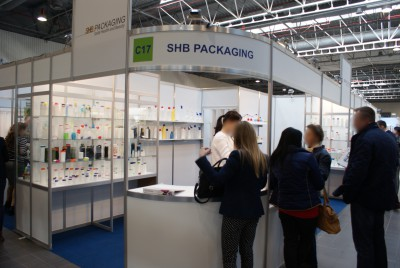 Company stand SHB on trade show PACKAGING INNOVATIONS WARSZAWA 2015