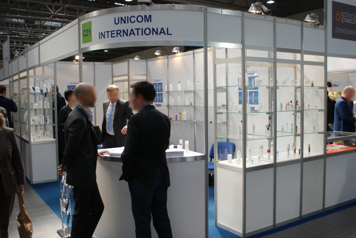 Stoisko firmy UNICOM INTERNATIONAL Sp. z o.o. na targach PACKAGING INNOVATIONS WARSZAWA 2015