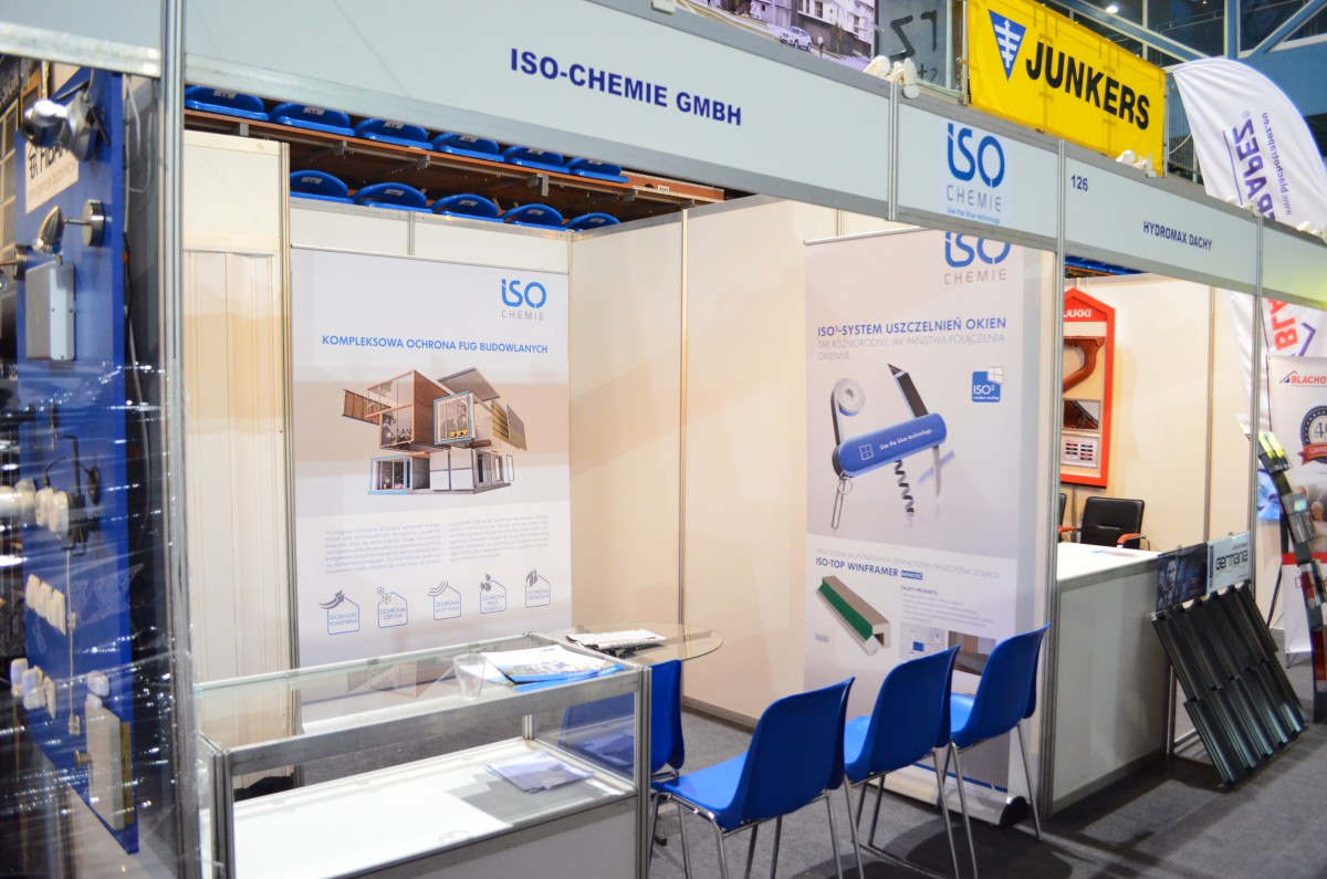 Company stand ISO-Chemie GmbH on trade show EXPO DOM 2015