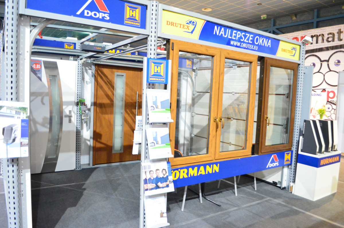 Company stand Aluprof S.A. on trade show EXPO DOM 2015