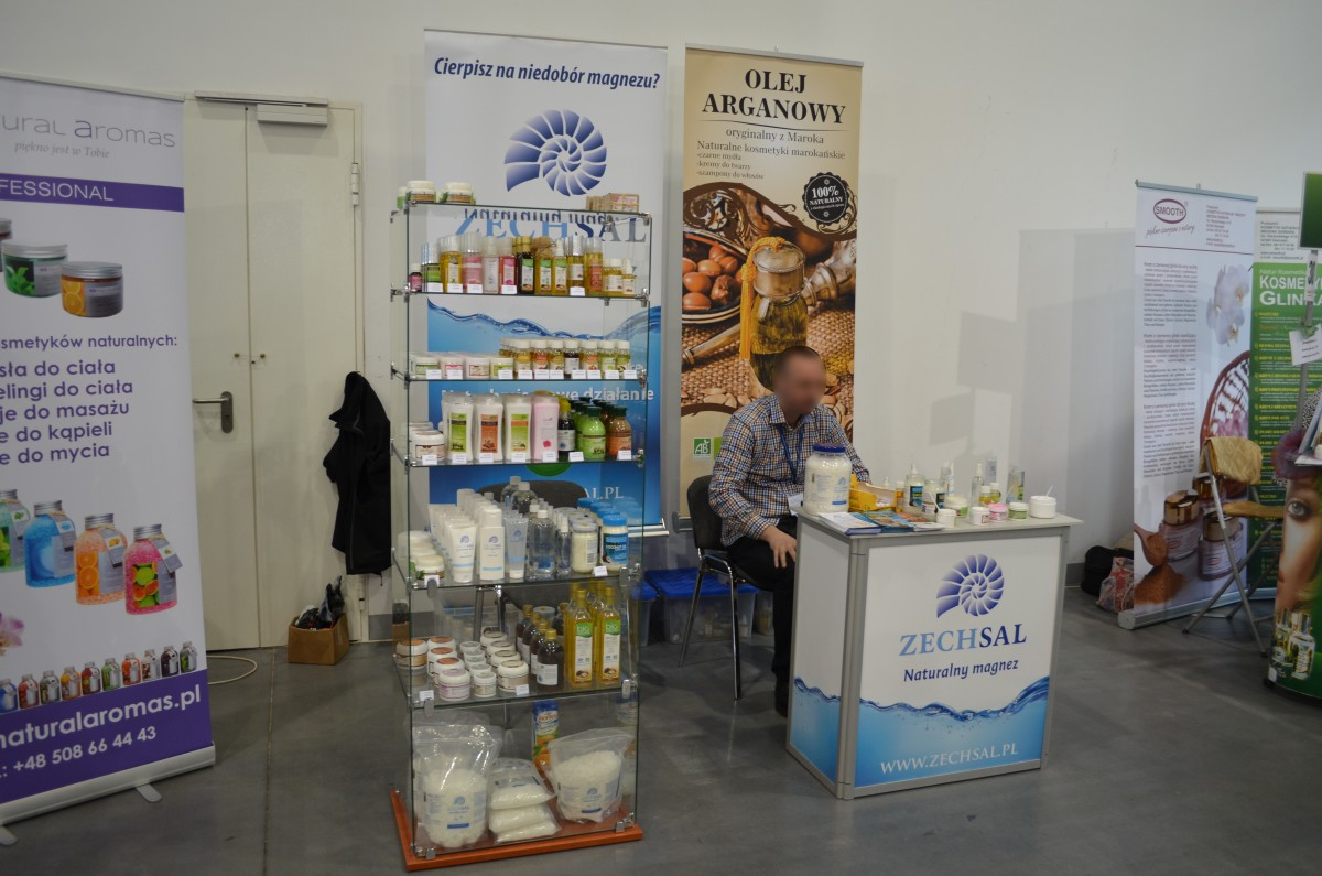 Company stand Magvita (ZECHSAL) on trade show beautyVISION 2015