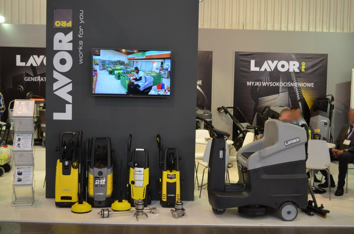 Company stand Lavorwash S.p.A. on trade show ISSA/INTERCLEAN 2015