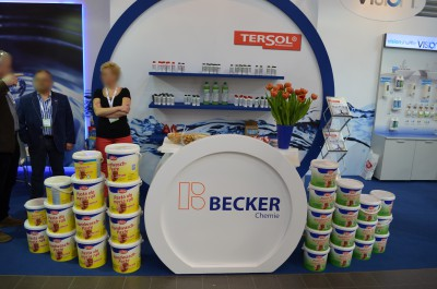 Company stand Eilfix Polska Sp.J. Anna Lagowska on trade show ISSA/INTERCLEAN 2015