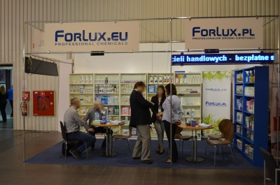 Company stand Interplus Sp. z o.o. on trade show ISSA/INTERCLEAN 2015