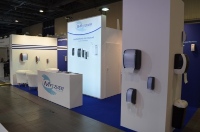 Company stand JM-Metzger GmbH on trade show ISSA/INTERCLEAN 2015