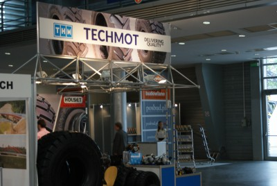 Company stand TECHMOT Sp. z o.o. on trade show INTERMASZ & INFRATEC 2015