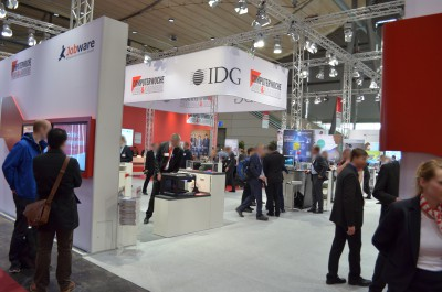 Company stand Accenture on trade show CEBIT 2015