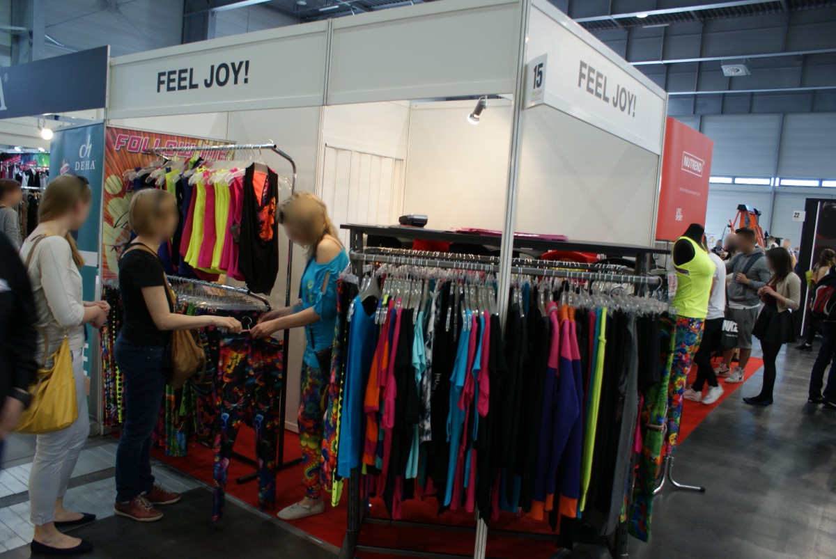 Stoisko firmy FEELJ! na targach FIT-EXPO 2015