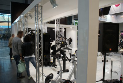 Company stand STAR FITNESS SA on trade show FIT-EXPO 2015