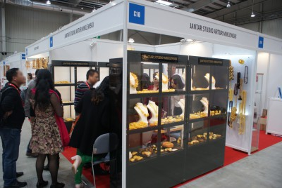 Company stand Jantar Studio on trade show Gift Show Poland 2015