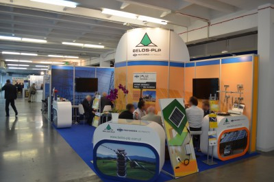 Company stand Belos-plp Sa on trade show EXPOPOWER 2015