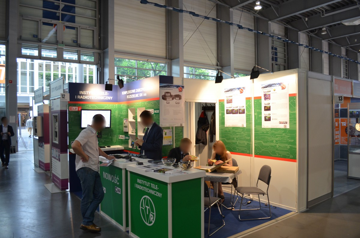 Company stand INSTYTUT TELE- i RADIOTECHNICZNY on trade show EXPOPOWER 2015
