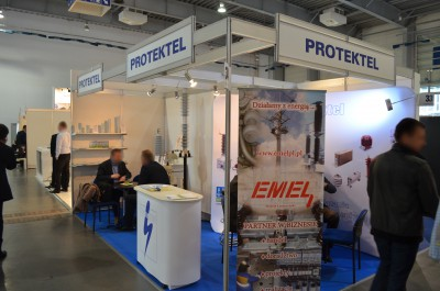Company stand Protektel Sp.j. on trade show EXPOPOWER 2015