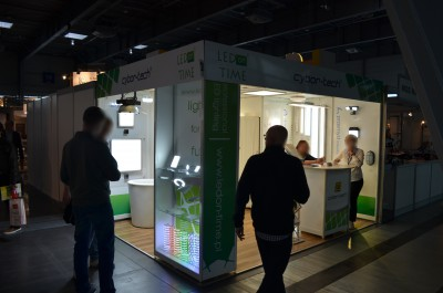 Company stand CYBOR-TECH on trade show GREENPOWER 2015