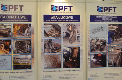 Company stand PFTechnology Sp. z o.o. on trade show PLASTPOL 2015