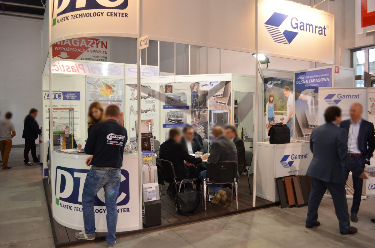 Company stand ITIB MACHINERY INTERNATIONAL S.P.A. on trade show PLASTPOL 2015