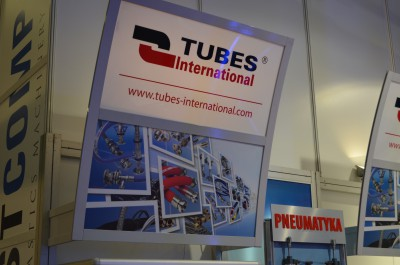 Company stand TUBES International Sp. z o.o. on trade show PLASTPOL 2015