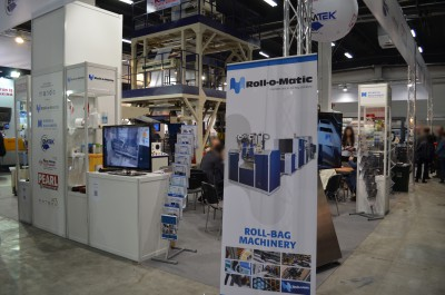 Company stand ROLL-O-MATIC A/s on trade show PLASTPOL 2015