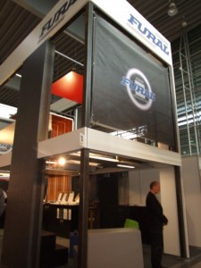 Company stand FURAL GmbH Systeme in Metall on trade show BUDMA 2012