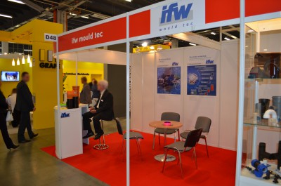 Company stand IFW MOULD TEC GmbH on trade show PLASTPOL 2015