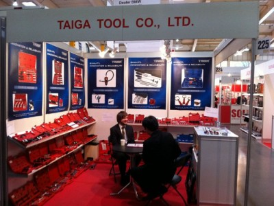 Company stand TAIGA TOOL Co., Ltd on trade show Fit - Expo 2011