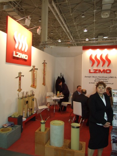 Company stand LZMO SA on trade show BUDMA 2012