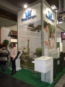 Company stand ROYAL EUROPA Sp. z o.o. on trade show BUDMA 2012