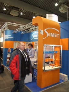 Company stand SIMET S.A. on trade show BUDMA 2012