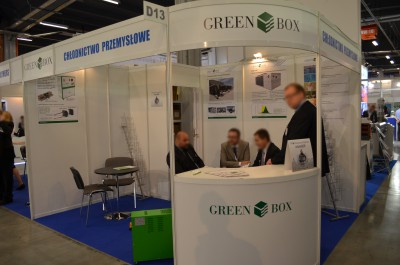 Company stand GREEN BOX s.r.l on trade show PLASTPOL 2015