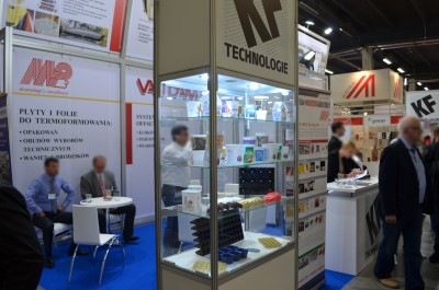 Company stand MP3 on trade show PLASTPOL 2015