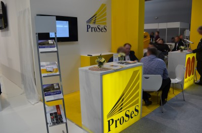 Company stand ProSeS BDE GmbH on trade show PLASTPOL 2015
