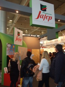 Company stand FARBY JAFEP on trade show BUDMA 2012
