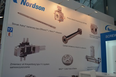 Company stand NORDSON Extrusion Dies Industries, LLC on trade show PLASTPOL 2015