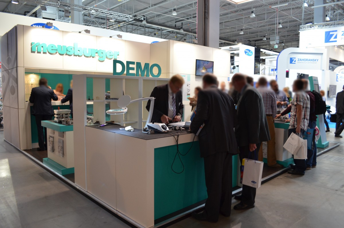Company stand MEUSBURGER GEORG GmbH & Co KG Standard moulds on trade show PLASTPOL 2015
