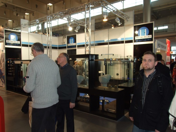 Company stand METALGLAS BONOMI S.r.l. on trade show BUDMA 2012
